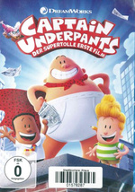 Cover der DVD Captain Underpants